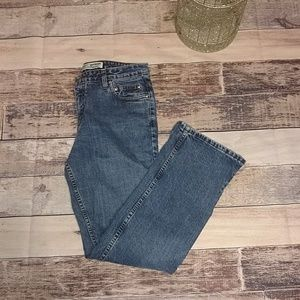 Harley Davidson boot cut jeans in size 10.